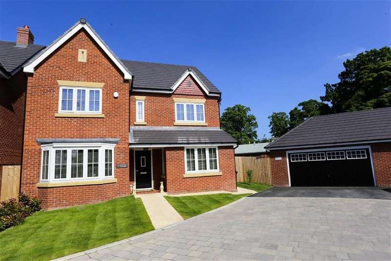 5 Bedrooms Detached House for sale in Redwood Gardens, Great Moor, Stockport