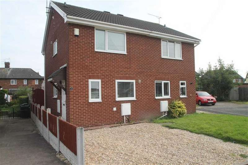 2 Bedrooms Semi Detached House for sale in Mercer Way, Saltney