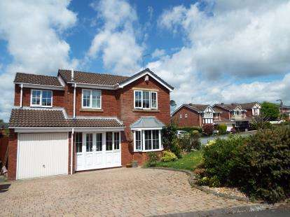 4 Bedrooms Detached House for sale in Sapphire Drive, Cannock, Staffordshire