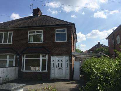 3 Bedrooms Semi Detached House for sale in Max Road, Chaddesden, Derby, Derbyshire