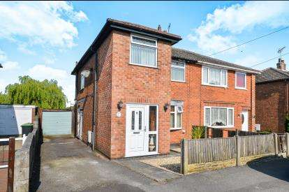 3 Bedrooms Semi Detached House for sale in Robin Hood Road, Kirkby-In-Ashfield, Nottingham, Notts