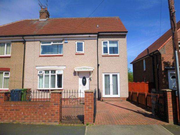4 Bedrooms Semi Detached House for sale in FORDHAM ROAD, FORD ESTATE, SUNDERLAND SOUTH