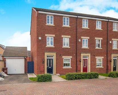 4 Bedrooms End Of Terrace House for sale in Aurora Way, Peterborough, Cambridgeshire, United Kingdom