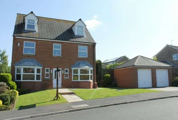 6 Bedrooms Detached House for sale in Campion Drive, Hutton Meadows, Guisborough