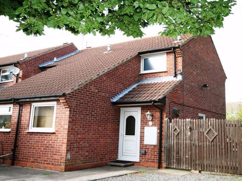 2 Bedrooms End Of Terrace House for sale in Dove Close, Worcester