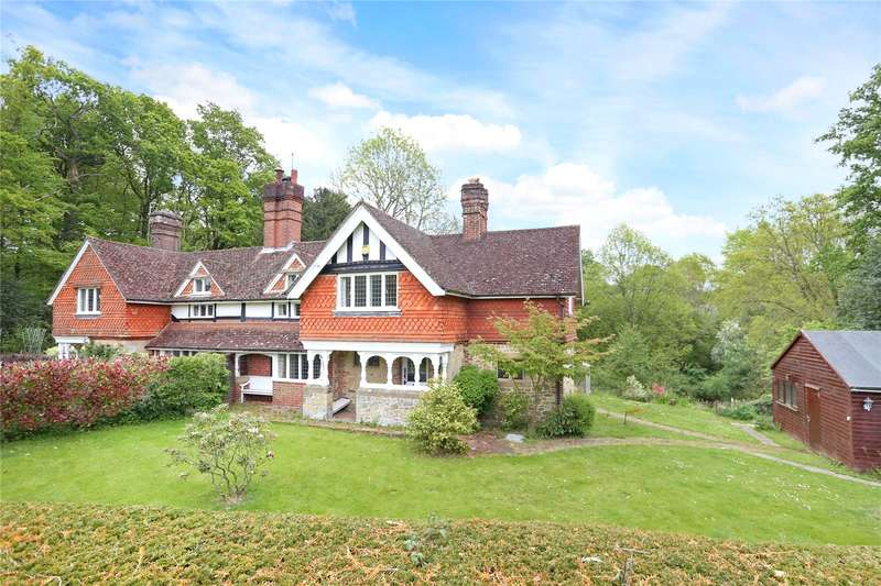 3 Bedrooms Semi Detached House for sale in Ashurst Cottages, Lickfold Road, Fernhurst, Haslemere, GU27