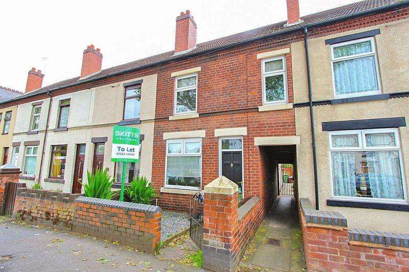 2 Bedrooms Terraced House for sale in Bloxwich Road, Leamore Walsall