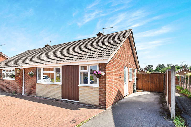 2 Bedrooms Semi Detached Bungalow for sale in Shrewsbury Road, Stretton, Burton-On-Trent, DE13