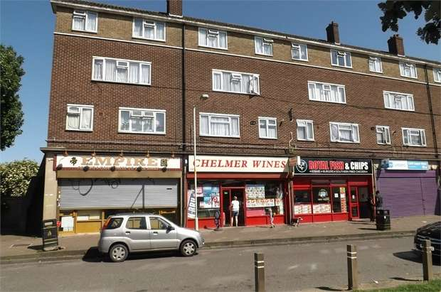1 Bedroom Flat for sale in Chelmer Crescent, Barking, Essex