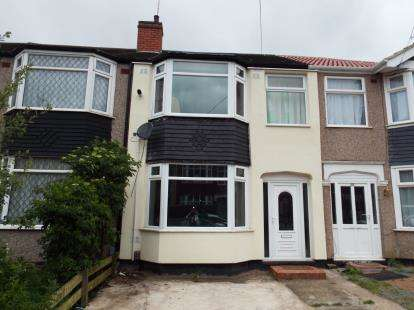 3 Bedrooms Terraced House for sale in Treherne Road, Radford, Coventry