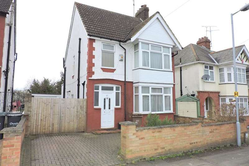 3 Bedrooms Detached House for sale in Arundel Road, Luton, Bedfordshire, LU4 8DY