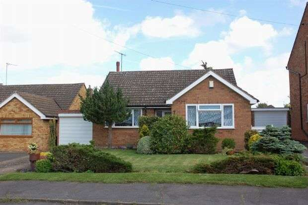 3 Bedrooms Detached Bungalow for sale in Tarrant Way, Moulton, Northampton NN3 7US