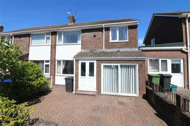 4 Bedrooms Semi Detached House for sale in Lodore Drive, Carlisle, Cumbria, CA2 7SG