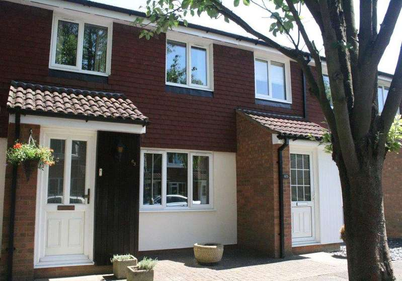 3 Bedrooms Terraced House for sale in Wellington Drive, Welwyn Garden City, Hertfordshire