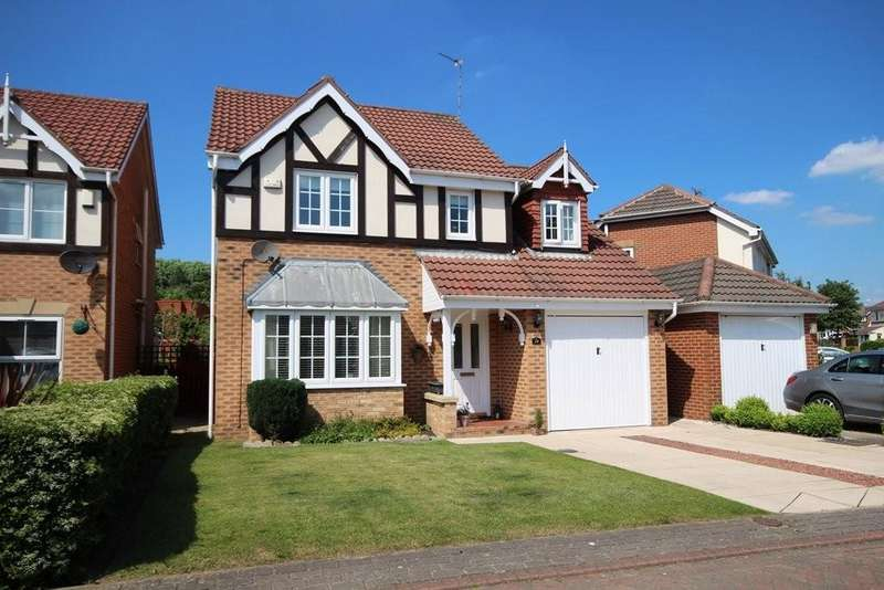 4 Bedrooms Detached House for sale in Oaklands, Robin Hood