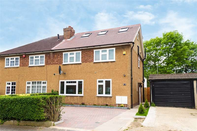 4 Bedrooms Semi Detached House for sale in Craigweil Close, Stanmore, HA7