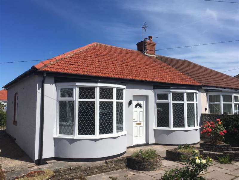2 Bedrooms Semi Detached Bungalow for sale in Roseacre, South Shore, Blackpool, FY4 2PL