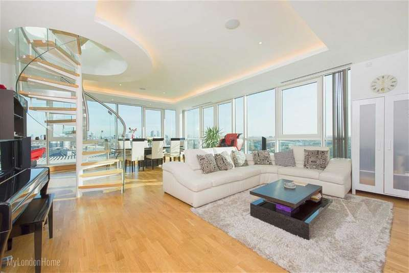 3 Bedrooms Property for sale in Aquarius House, St George Wharf, Vauxhall, London, SW8