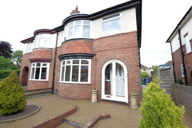 3 Bedrooms Semi Detached House for sale in Manor Gardens, Scarborough, North Yorkshire YO12 7RS
