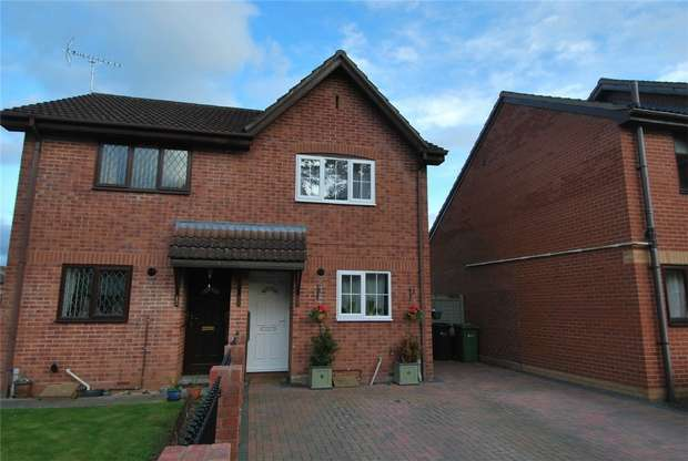2 Bedrooms Semi Detached House for sale in 47 Middlemarsh, Leominster, Herefordshire