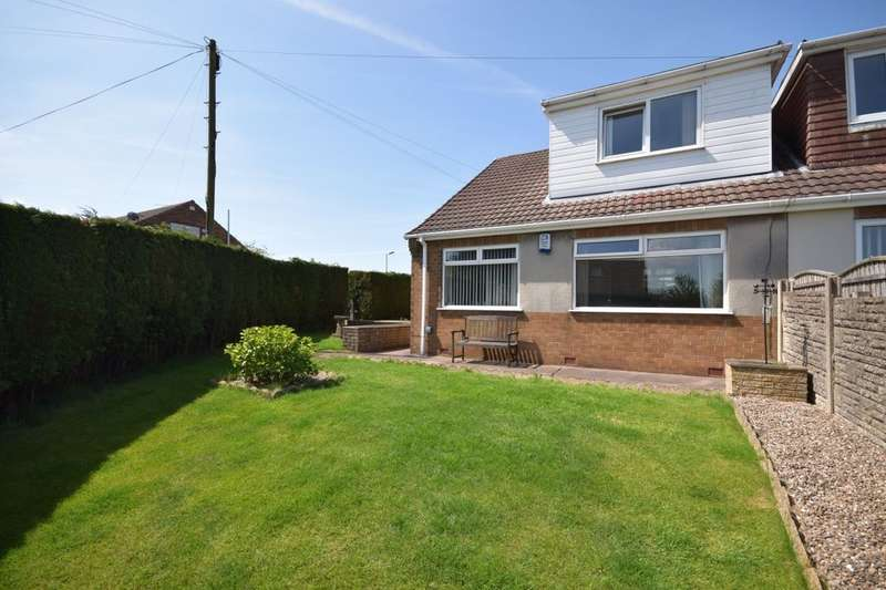 3 Bedrooms Semi Detached House for sale in Lawns Road, Kirkby-In-Ashfield, Nottingham, NG17