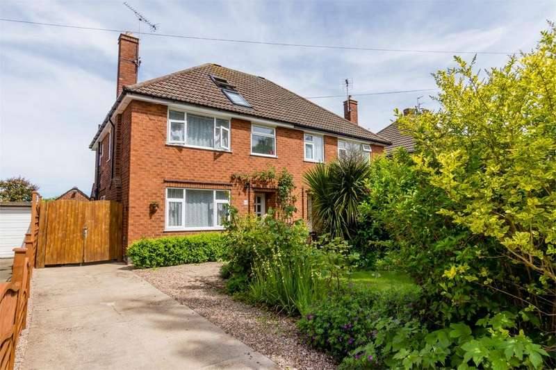 4 Bedrooms Semi Detached House for sale in Broadway West, Fulford, YORK