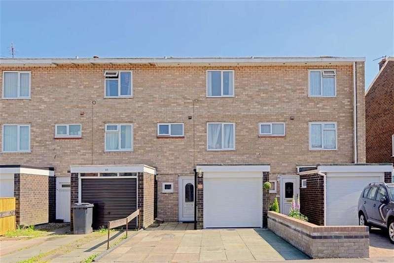 3 Bedrooms Terraced House for sale in Stephenson Drive, Belle Vue, Shrewsbury, Shropshire