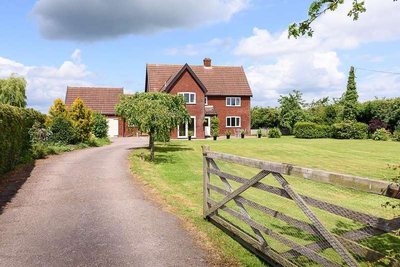 4 Bedrooms Detached House for sale in The Common, Wacton