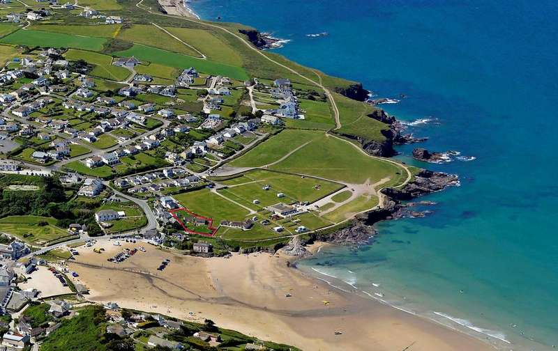 10 Bedrooms House for sale in Beachside - Plot with planning permission, Polzeath