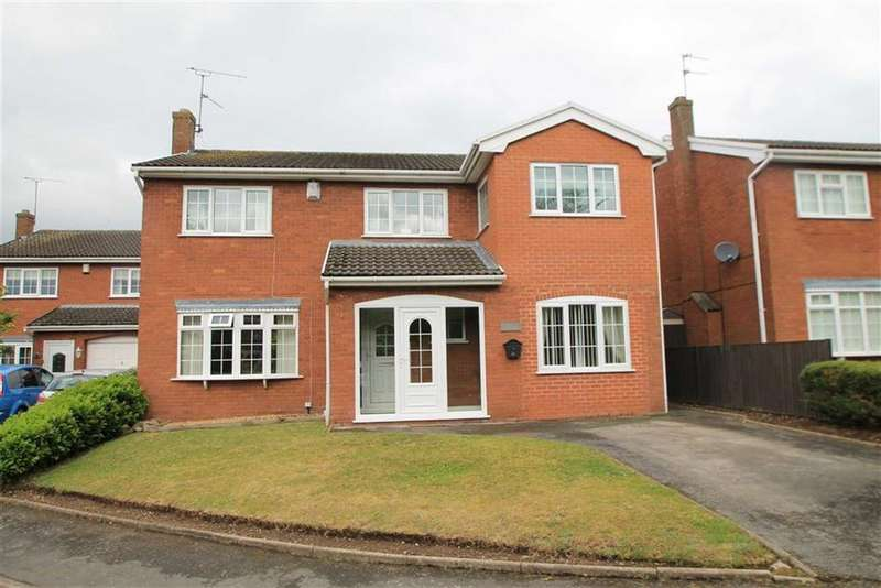 5 Bedrooms Detached House for sale in Lincoln Close, Wrexham, Wrexham