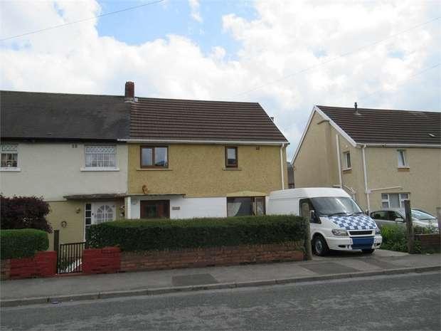 3 Bedrooms Semi Detached House for sale in Ynys Cadwyn, Glynneath, Neath, West Glamorgan