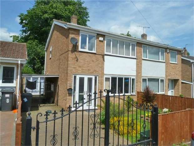 3 Bedrooms Semi Detached House for sale in Ascot Drive, Doncaster, South Yorkshire