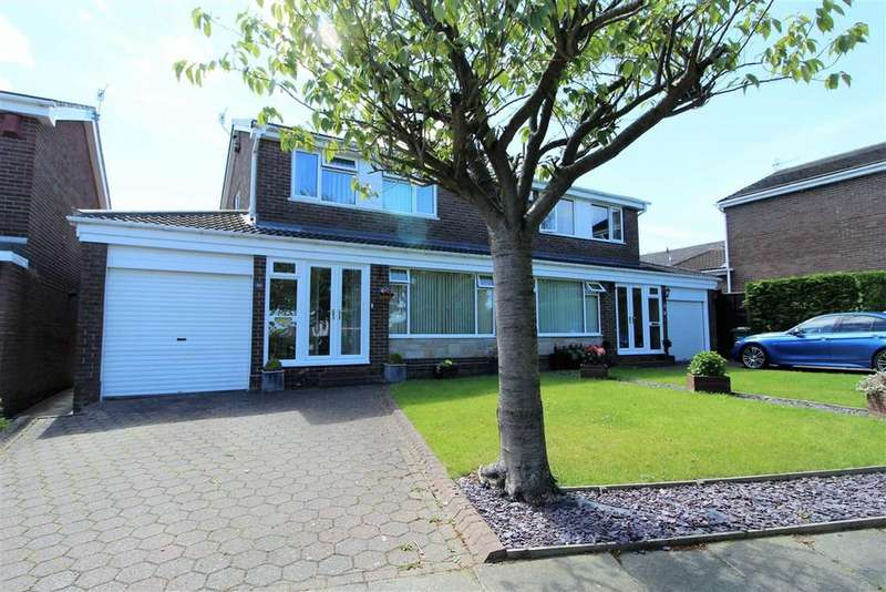3 Bedrooms Semi Detached House for sale in Catton Grove, Sunniside, Newcastle Upon Tyne