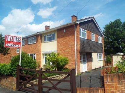 3 Bedrooms Semi Detached House for sale in Wessex Drive, Cheltenham, Gloucestershire