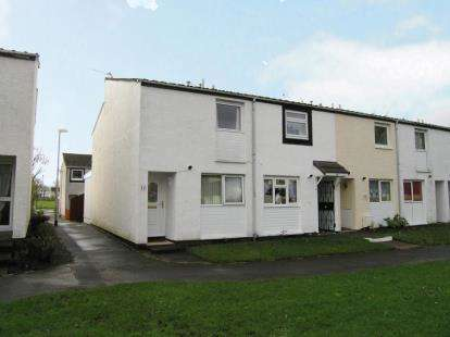 2 Bedrooms End Of Terrace House for sale in Sundrum Place, Kilwinning, North Ayrshire