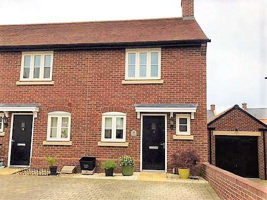 2 Bedrooms End Of Terrace House for sale in Bourke Road, Shepton Mallet, Somerset, BA4 4FS