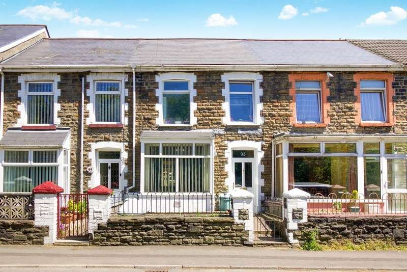 3 Bedrooms Terraced House for sale in Victoria Street, Pontycymer, Bridgend