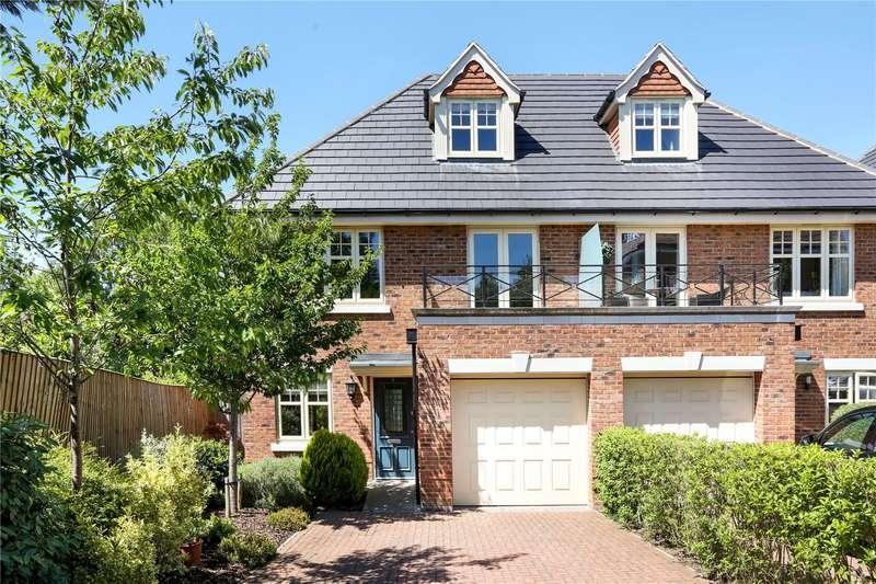 3 Bedrooms Semi Detached House for sale in Bird Gardens, Wargrave, Reading, Berkshire, RG10