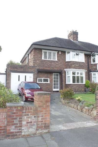 3 Bedrooms Semi Detached House for sale in Kings Road, Wirral, Merseyside, CH63