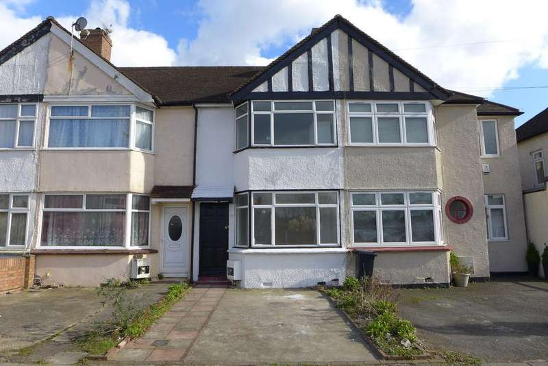 2 Bedrooms Terraced House for sale in Granville Avenue, Feltham