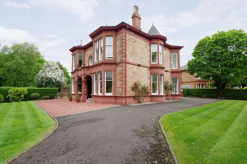 6 Bedrooms Detached Villa House for sale in 120 Terregles Avenue, Maxwell Park, Pollokshields, Glasgow, G41 4LJ