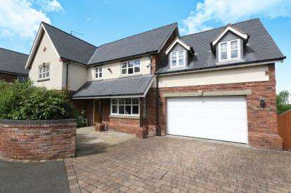 4 Bedrooms Detached House for sale in Pennant View, Gorsedd, Holywell, Flintshire, CH8