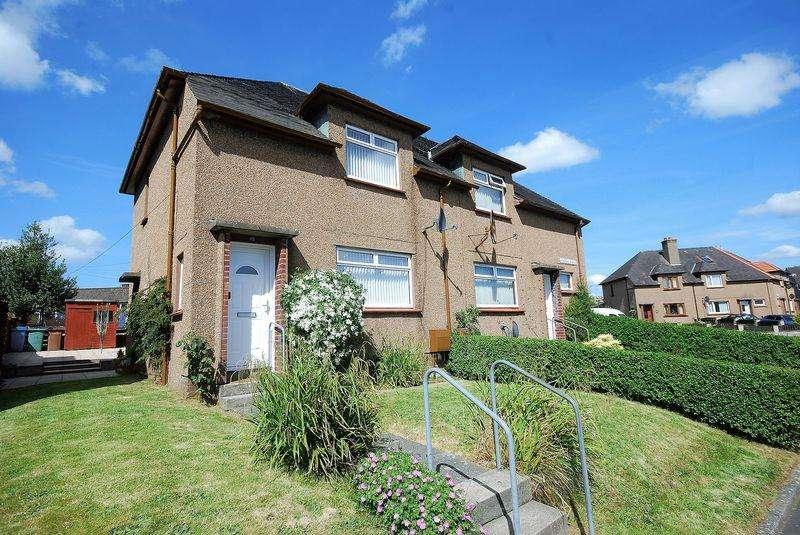 2 Bedrooms End Of Terrace House for sale in 15 Kincraig Avenue, Maybole KA19 8AR