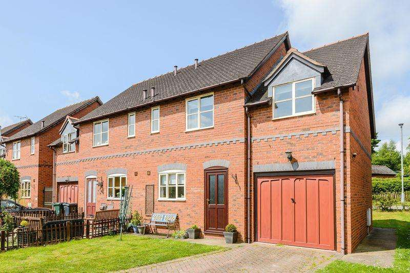 3 Bedrooms Semi Detached House for sale in Greenfields Mews, Malpas