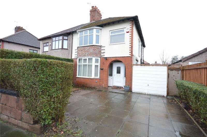 3 Bedrooms Semi Detached House for sale in South Mossley Hill Road, Grassendale, Liverpool, L19
