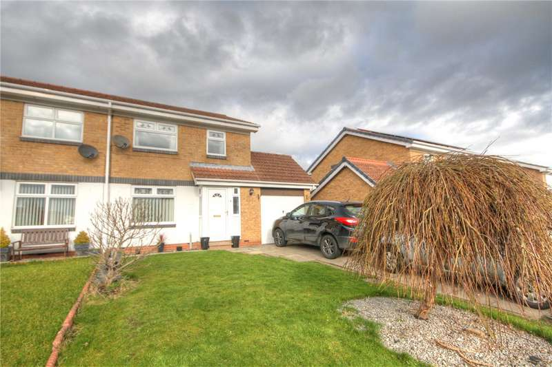 3 Bedrooms Semi Detached House for sale in Croftside, Bishop Auckland, County Durham, DL14