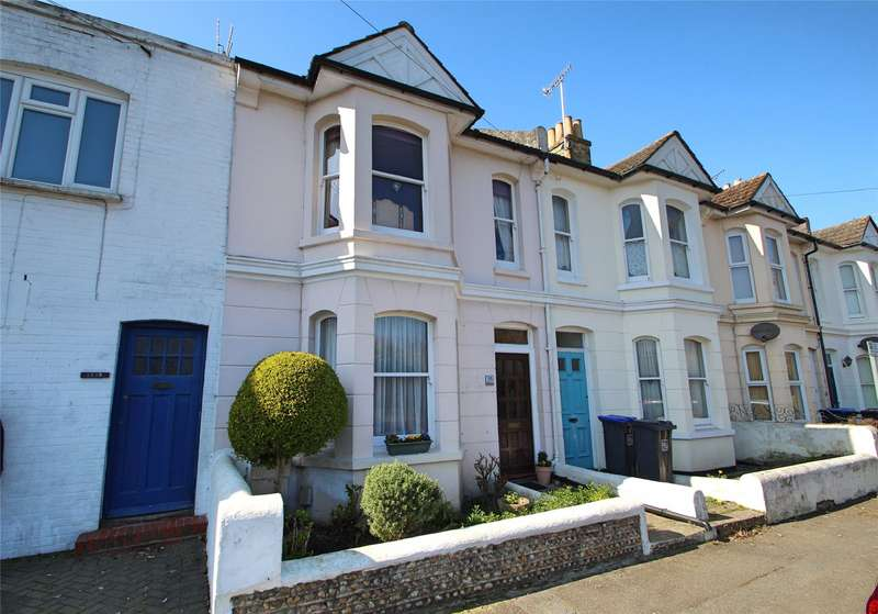 3 Bedrooms Terraced House for sale in Park Road, Worthing, West Sussex, BN11