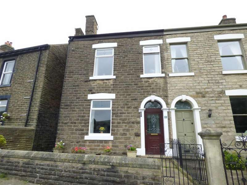 4 Bedrooms Semi Detached House for sale in Primrose Terrace, Glossop, Derbyshire, SK13