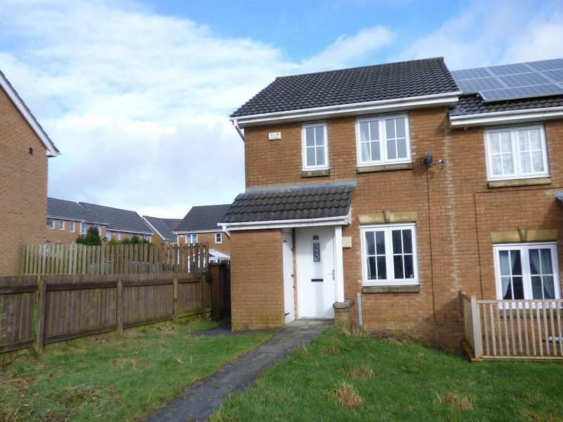 3 Bedrooms Semi Detached House for sale in Hawthorn Way, Illingworth, Halifax, West Yorkshire, HX2