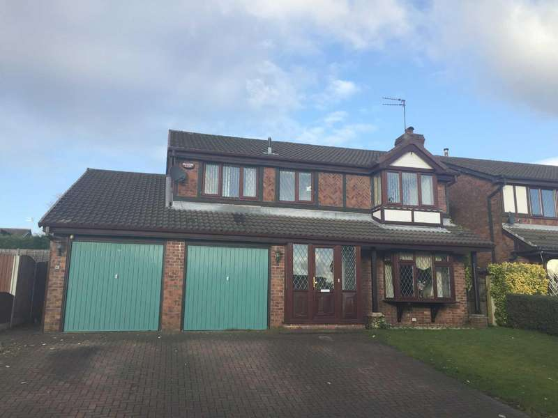4 Bedrooms Detached House for sale in Wicken Bank, Hopwood, Heywood, Lancashire, OL10